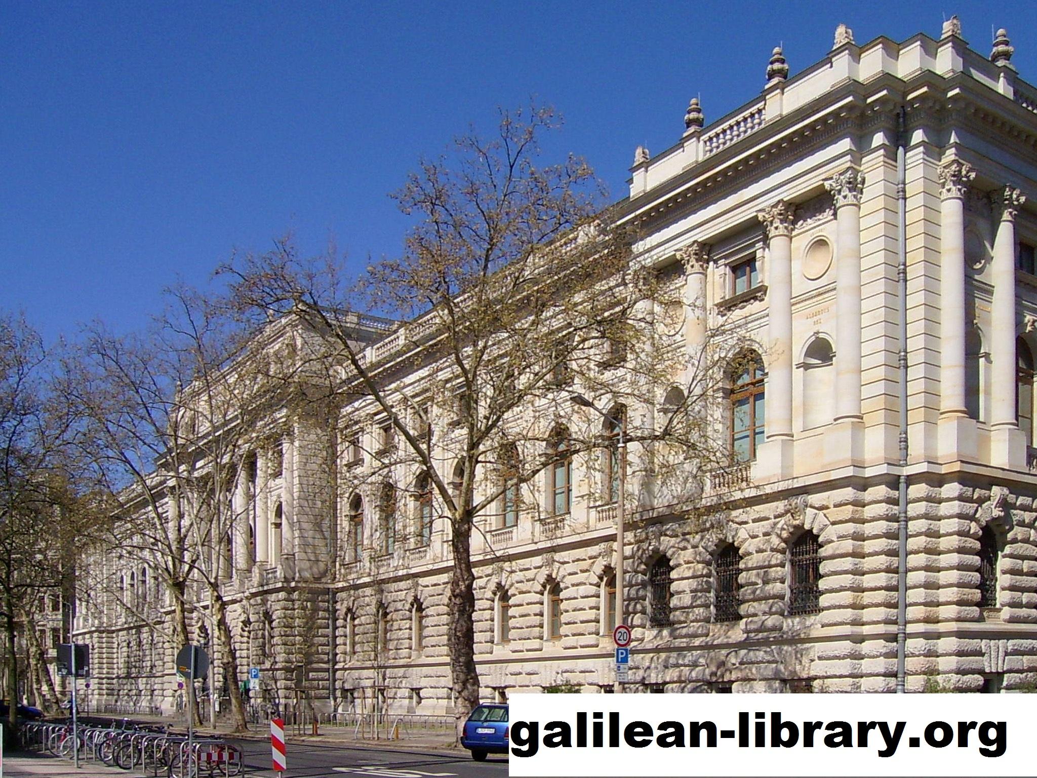 Leipzig University Library Perpustakaan Yang Dimiliki Rusia