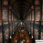 Perpustakaan Trinity College Dublin Dengan desain unik